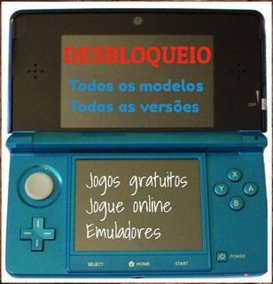 3ds/2ds/new Original Debloqueio Nintendo 11.13