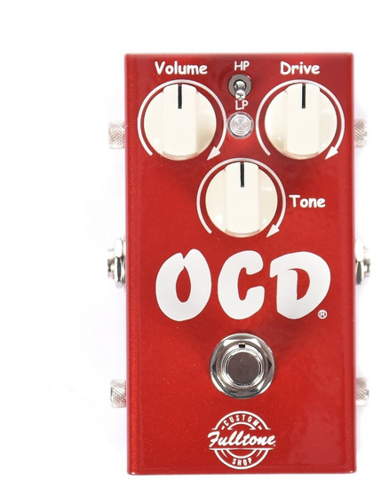 Pedal Overdrive Fulltone Ocd Candy Apple Red Limited Edition