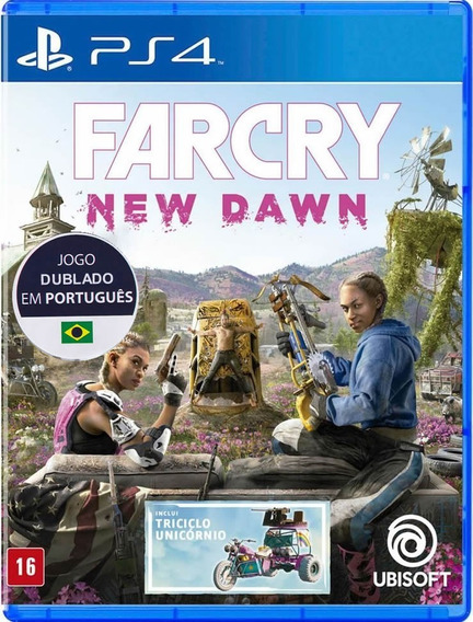 Far Cry: New Dawn - Português - [ps4] - Lacrado