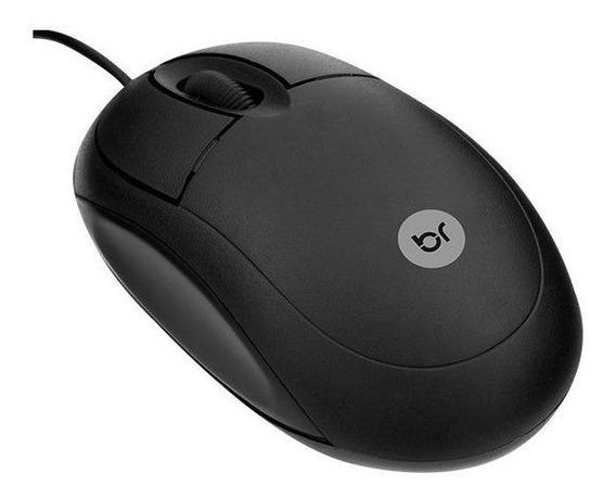 Mouse Usb Bright Standard 0106 800dpi Preto