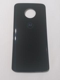 Tampa Traseira Motorola Moto G6 Plus Xt1926 Retirada Azul