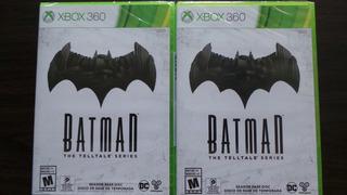 Batman The Telltale Series Xbox 360 Nuevo Sellado