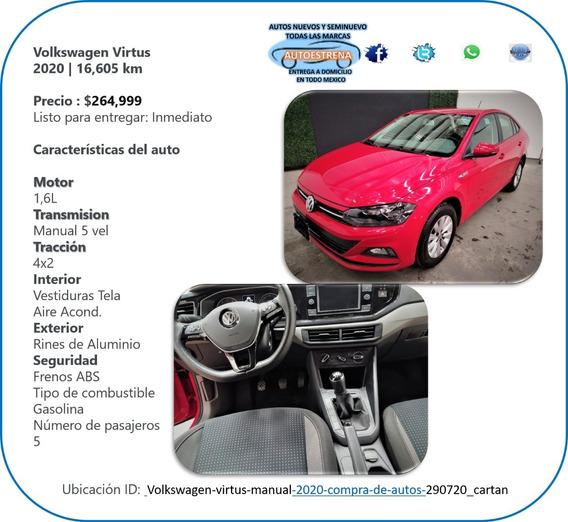 Volkswagen Virtus 2020 El Jetta Pequeño