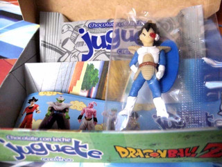Mc Mad Car Muñecos Figuras Plastico Dragon Ball Z Chocolate