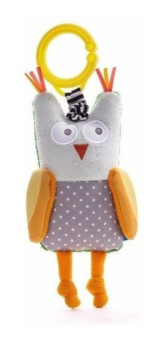 Peluche Colgante Sonajero Taf Toys  Obi The Owl Lechuza