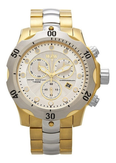 Relógio De Pulso Wzw Casual 7237
