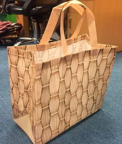 100 Sacola Tnt Laminado Reutilizável - Ecobag Retornável Ipa