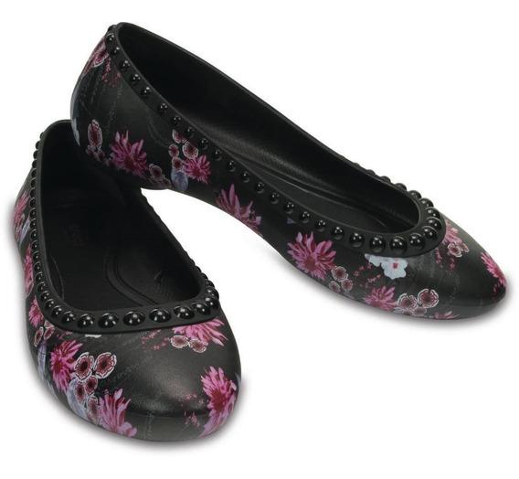 Crocs Originales Modelo Negro Con Tachas