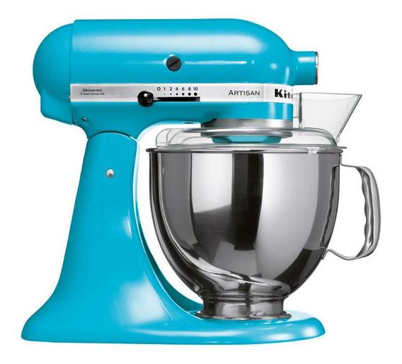 Batedeira Stand Mixer Artisan Cor Crystal Blue - Kea33cw
