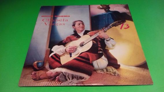 Disco Lp Chavela Vargas / Noche Bohemia / 1971