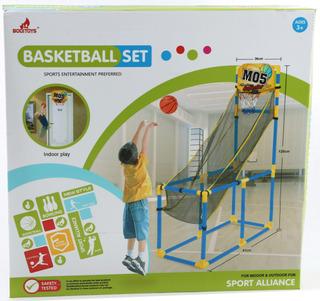 Set Basketball Con Estructura Y Red - Flaber