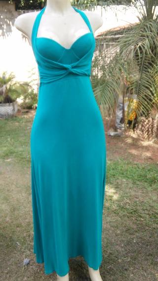 Vestido Longo Anna Julia Fashion Tam M