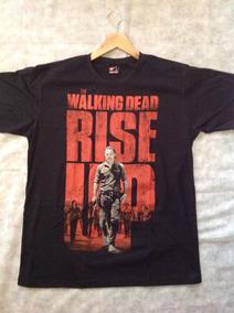 Camisa The Walking Dead Rise Up - Produto Oficial (netflix)