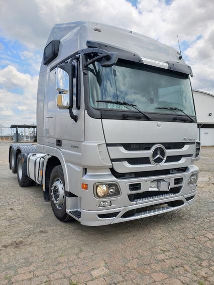 Mercedes-benz Mb 2546 6x2 Actros Ano 2013 / Financiamos