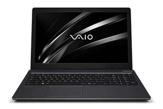Notebook Vaio Fit15s I5 8gb1tb 15.6 W10 Home Chumbo