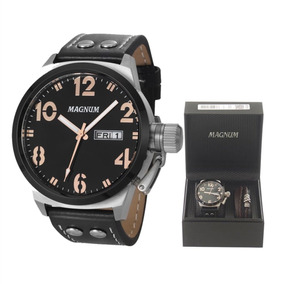 Relógio Magnum Masculino Military Ma32783c Original Com Nota