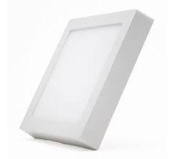 Luminária Plafon Led 18w Quadrado Sobrepor Classe A Bivolt
