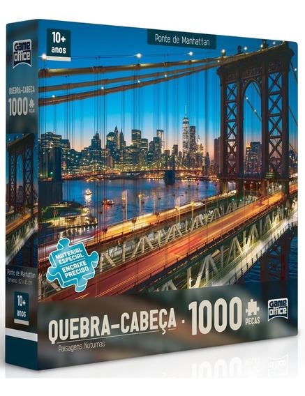 Puzzle Quebra Cabeça 1000 Peças Paisagens Noturnas Toyster