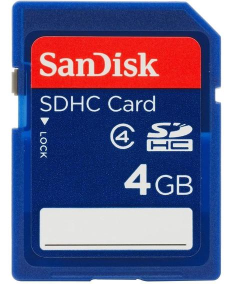 Cartão De Memória 4gb Sdhc Classe 4