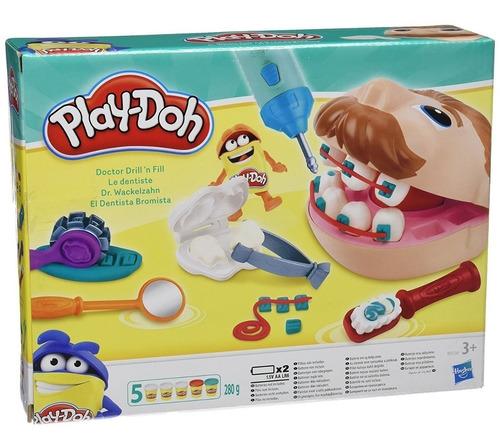 Imagen 1 de 5 de Play Doh Juego De Masas Dentista Bromista Hasbro B5520