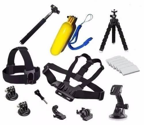 Kit Para Gopro Hero Câmeras De Ação Em Geral