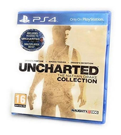 Uncharted Collection Ps4 Psn Code 2 Envio Na Hora!!
