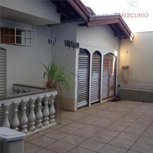 Imagem 1 de 27 de Casa Com 3 Dormitórios À Venda, 342 M² Por R$ 720.000,00 - Jardim América - Bauru/sp - Ca0048