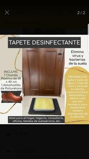 Charola /tapete Desinfectante P/calzado Cantidad S/ Descrip