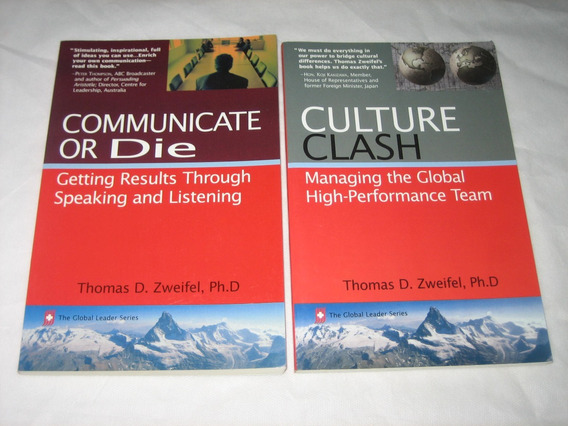 Communicate Or Die / Culture Clash - Thomas D.zweifel - 2003