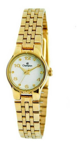 Relógio Feminino Champion Pulseira Aço 50m Ref. Ch25141h