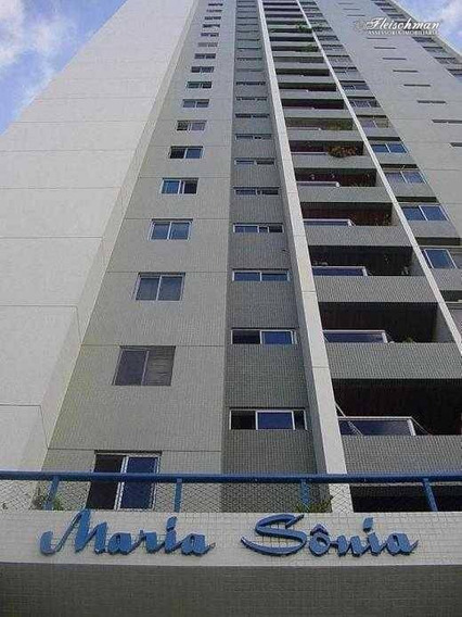 Apartamento Com 2 Dormitórios Para Alugar, 72 M² - Tamarineira - Recife/pe - Ap1624