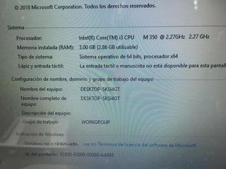 Hp Dv5-2045la Core I3 2.27ghz. 3gb Ram. 500gb