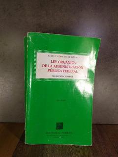 L2792 Ley Organica De La Administracion Publica Federal 42ed