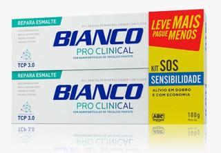 Kit 2 Cremes Dentais Pro Clinical - Sos Sensibilidade