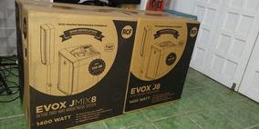 Par De Caixa Rcf Evox Jmix8