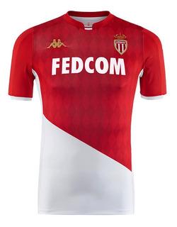 Camisa Monaco França Home 2020 Nova Pronta Entrega