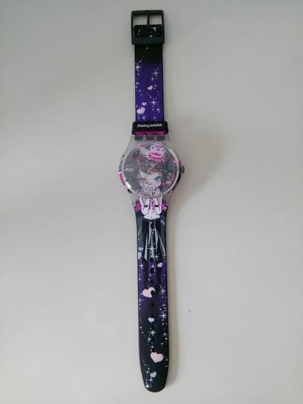 Relógio Swatch Strawberry Switchblade - Original