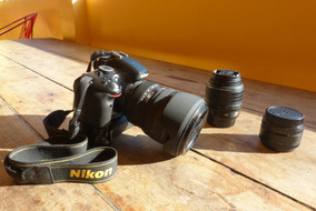 Kit Nikon D5100 Para Video 3 Lentes Grip 2 Baterias