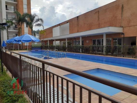 Apartamento Com 2 Dormitórios À Venda, 56 M² Por R$ 290.000 - Jardim Carambeí - São Roque/sp - Ap0094