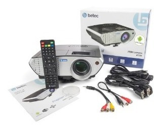 Projetor Led - 2200 Lumens - Android Wifi - Betec Bt725+