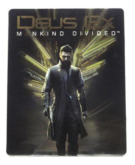 Deus Ex Mankind Divided Steelcase Ps4 Mídia Física