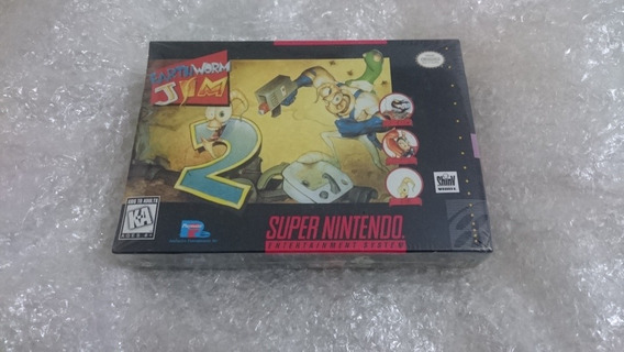 Earthworm Jim 2 Lacrado Snes