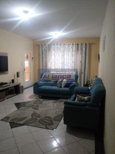 Sobrado Com 3 Dormitórios À Venda, 246 M² Por R$ 435.000 - Jardim Testae - Guarulhos/sp - Cód. So139 - Ai7307