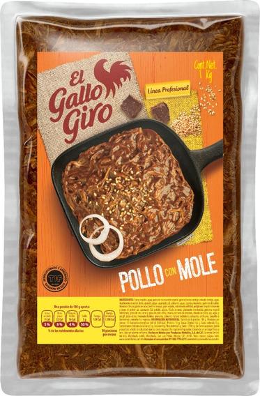 Pollo Con Mole, Two Pack, Paquete Con Dos Bolsas De Un Kilo