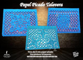 Decoración Papel Picado Talavera Paq 50 Tiras 5