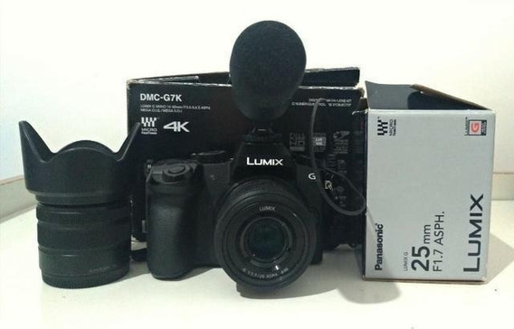 Lumix G7 + Lente Panasonic 25mm 1.7