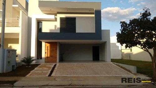 Casa Com 3 Dormitórios À Venda, 234 M² Por R$ 1.200.000,00 - Condomínio Ibiti Royal Park - Sorocaba/sp - Ca1026