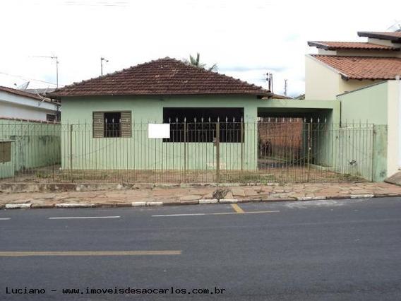 Casa Para Venda Em Ibaté, Centro, 3 Dormitórios, 1 Banheiro, 6 Vagas - L82