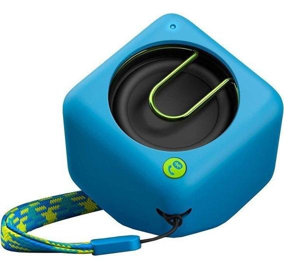Caixa De Som Portátil Philips 2watts Bluetooth Azul Bt1300a