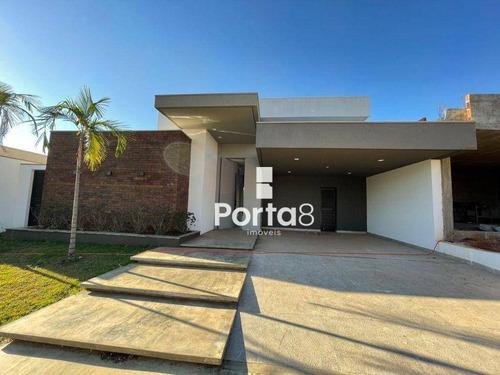 Casa Com 3 Dormitórios À Venda, 250 M² Por R$ 1.500.000,00 - Parque Residencial Damha Vi - São José Do Rio Preto/sp - Ca2670